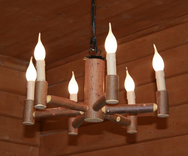 Светильники в стиле рустик